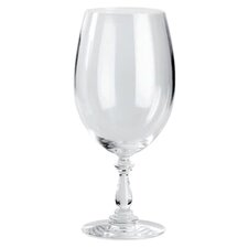 Dressed Red Wine Glass