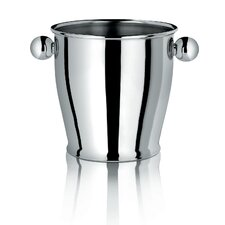 <strong>Alessi</strong> Ice Bucket with Handles in Polished Stainless Steel
