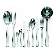 <strong>Alessi</strong> Nuovo Milano Flatware Collection in Mirror Polished by Ettore Sottsass