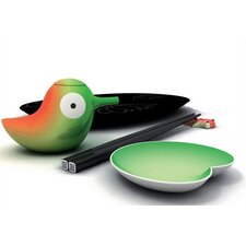<strong>Alessi</strong> Lily Pond Sushi Set by Stefano Giovannoni