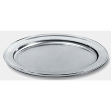 <strong>Alessi</strong> Ufficio Tecnico Alessi Oval Mirror Edge Finish Serving Plate