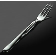 Caccia Pronged Table Fork in Mirror Polished by Luigi Caccia Dominioni