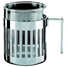 <strong>Alessi</strong> Aldo Rossi 12.5 oz. Mug with Heat Resistant Glass