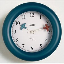 "<strong>Alessi</strong> 10"" Michael Graves Kitchen Wall Clock"