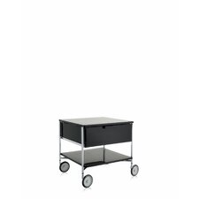 "Mobil 19.25"" (On Wheels) 1 with Open Shelf"