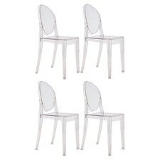 Victoria Ghost Chair (Set of 4)