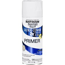 12 oz. White Primer Painter's Touch 2X Ultra Cover Spray Paint