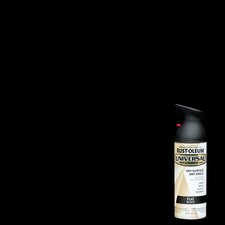 12 Oz Black Flat Universal™ Spray Paint