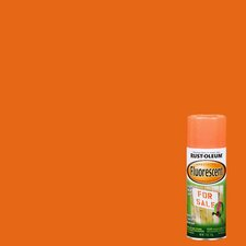11 Oz Fluorescent Orange Spray Paint