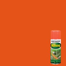 11 Oz Fluorescent Red Marking Spray Paint