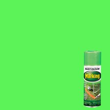 11 Oz Fluorescent Green Marking Spray Paint