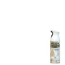 <strong>Rustoleum</strong> 12 Oz Flat White Universal All Surface Spray Paint