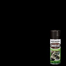 12 Oz Black Camouflage Spray Paint