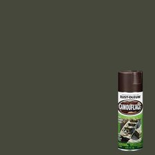 12 Oz Earth Brown Camouflage Spray Paint