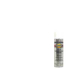 15 Oz White Flat High Performance Enamel Spray Paint 7590-838