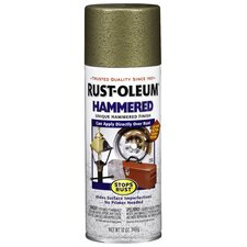 <strong>RustoleumStopsRust</strong> Gold Hammered Enamel Aerosol Spray Paint