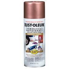 12 Oz Copper Metallic Stops Rust Spray Paint