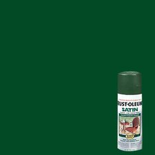 Hunter Green Enamel Finish Spray Paint Satin