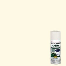 Shell White Enamel Finish Spray Paint Satin