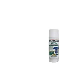 White Enamel Finish Spray Paint Satin