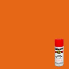 12 Oz Orange Stops Rust® Flat Protective Enamel
