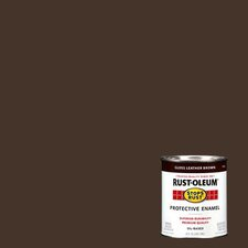 1 Quart Leather Brown Protective Enamel Oil Base Paint 7775-502