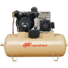 <strong>Ingersoll Rand</strong> 120 Gallon 10 HP Type-30 Reciprocating Air Compressor