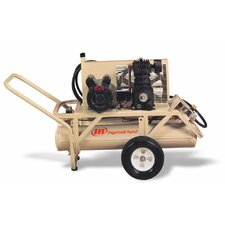 8 Gallon T30 9 HP Air Sled Compressor with Pull Start