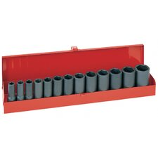13Pc Socket Set 1/2 Sq Dr (Set of 13)