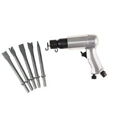 Air Hammer W/Chisel Kit - Stand.