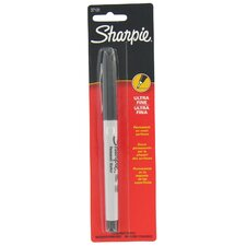 <strong>Sharpie</strong> Black Ultra Fine Point Sharpie Permanent Marker