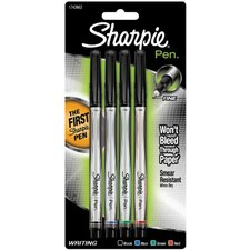 Permanent Marker Pen (Set of 4)