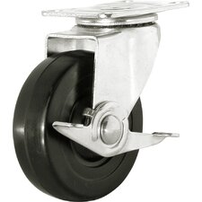 "5"" General Duty Swivel Caster with Brake"