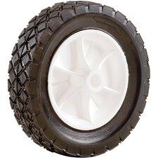 Plastic Hub Semi Pneumatic Rubber Tire