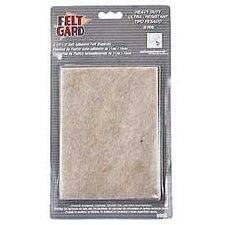 "<strong>Shepherd</strong> 1/2"" x 6"" Heavy Duty Felt Gard Felt Pads (Set of 6)"