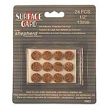 "1/2"" Round Surface Gard Cork Pad (Set of 24)"