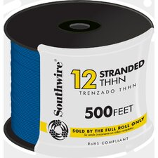 "6000"" 12 Gauge 19 Strand Copper Building Wire (500 Feet)"