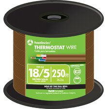 "3000"" 18 Gauge 5 Wire Thermostat Wire"