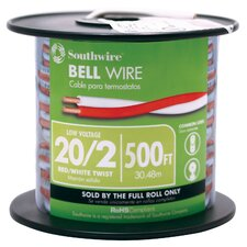 "6000"" 20 Gauge 2 Wire Twisted Bell Wire (Set of 500)"