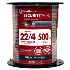 "6000"" 22/4 Gauge Security Cable"