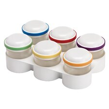 FlexPods Stackable Freezer Tray Storage Jars