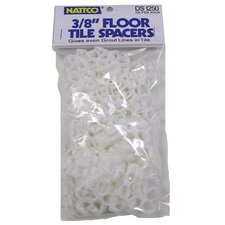"100 Count 3/8"" Floor Tile Spacers DS1250"