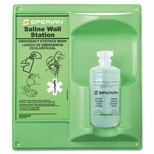 <strong>Sperian Safety Wear</strong> Saline Eye Wash Wall Station