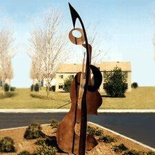 The Bass Player Sculpture