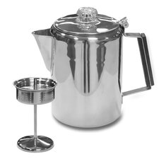 Stainless Steel Percolator Coffee Pot