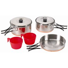 <strong>Stansport</strong> Two Person Stainless Cook Set