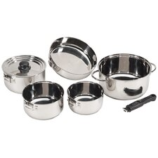 7-Piece Stainless Steel Family Cookware Set