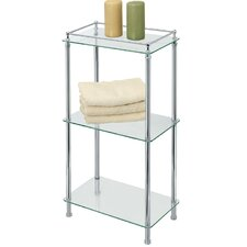 "<strong>Gatco</strong> Perfect Solutions 16"" x 30.5"" Glass Shelf"