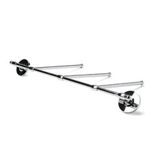 "Classic 13.5"" Wall Mounted 3-Arm Towel Bar"