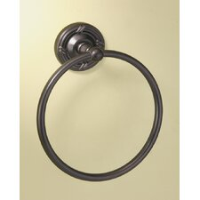 Chenille Towel Ring in Burnished Bronze